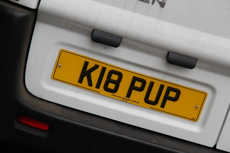 Car reg of one of the owners :)