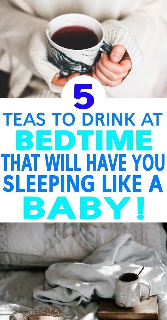 Get a Better Night's Sleep: 5 of the Best Sleep Tea's