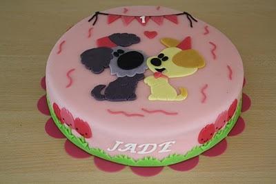 Karins Taarten: Woezel en Pip taart