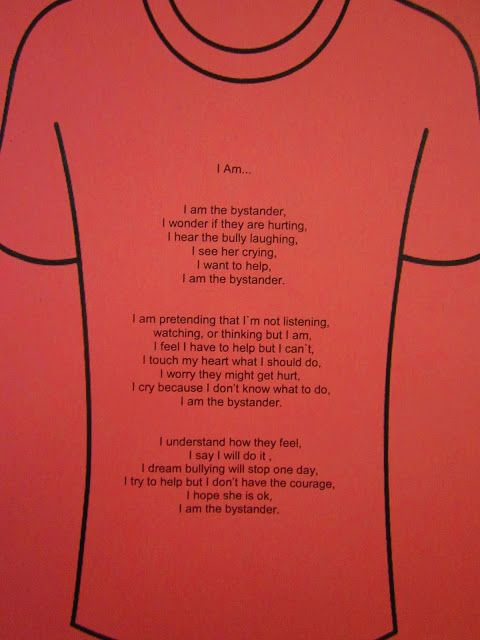 11 best Character Education: Pink Shirt Day images on Pinterest ...