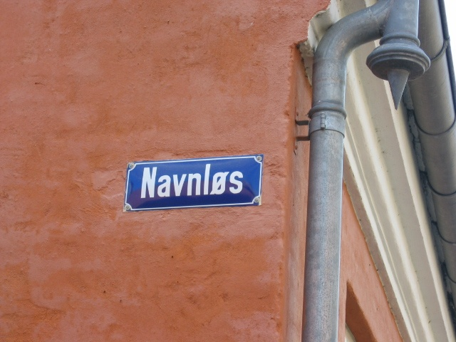 Navnløs, Viborg (the name of the street: No Name Street)