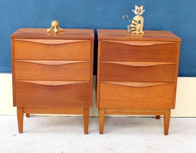 Bedside Tables By Reliance Midcentury Bedside Table Bedside Table Table