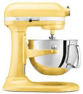KitchenAid Pro 600 Series Stand Mixer, Majestic Yellow,$388.00