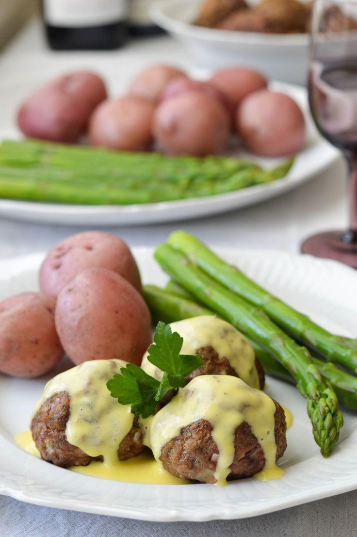 Recipe: Lamb Meatballs with Lemon Sauce