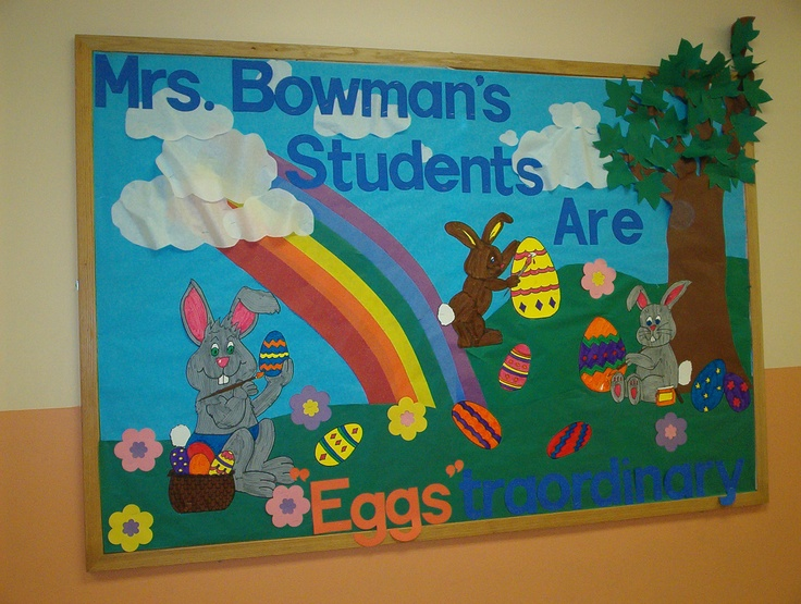 Spring Classroom Decorations To Make ~ Best images about easter boards doors ideas on