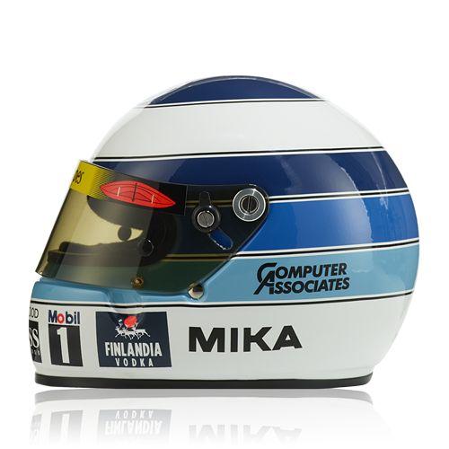 """""""Vodafone McLaren Mercedes"""" Hakkinen Helmet 1998 (1:2) at McLaren Store"""