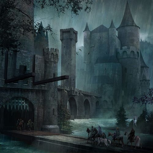 Robb and his men enter the Twins - Michael Komarck