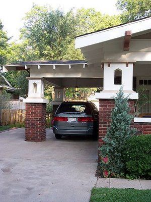 17 best images about carport on pinterest craftsman for House plans with drive through carport