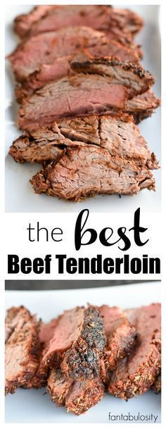WOW!! This is the BEST Beef Tenderloin Recipe and meat rub recipe around! http://fantabulosity.com?utm_content=bufferf5427&utm_medium=social&utm_source=pinterest.com&utm_campaign=buffer