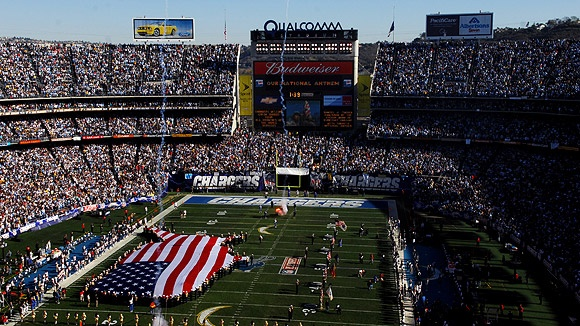 Qualcomm Stadium Seating Chart, Pictures, Directions, and History - San Diego Chargers - ESPN