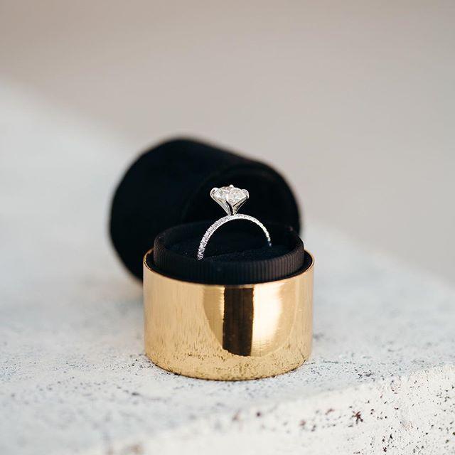 The Aeron Cute Promise Rings Black Ring Box Engagement Ring Box