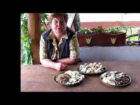 Őrségi ételek - YouTube