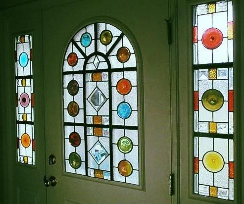 17 Best images about Stained Glass Front Doors on ...