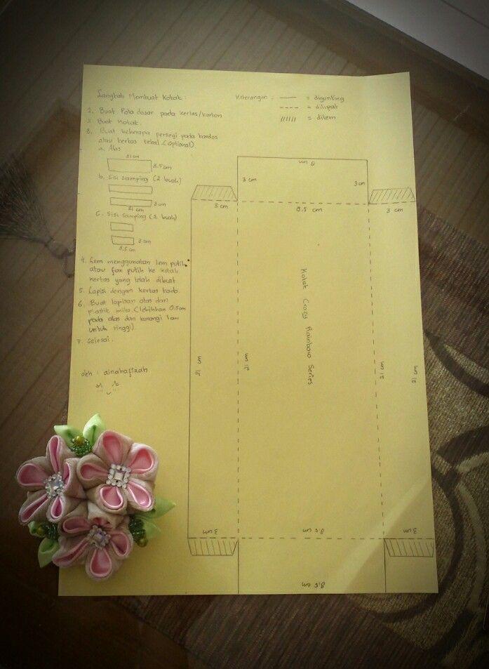 DIY paper box in Bahasa Indonesia