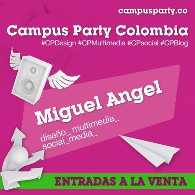Escenario Miguel Ángel #CPCO6 Social Media, Diseño, Multimedia