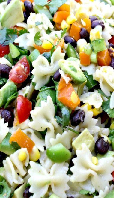 1000+ ideas about Southwestern Pasta Salads on Pinterest | Salsa dress ...