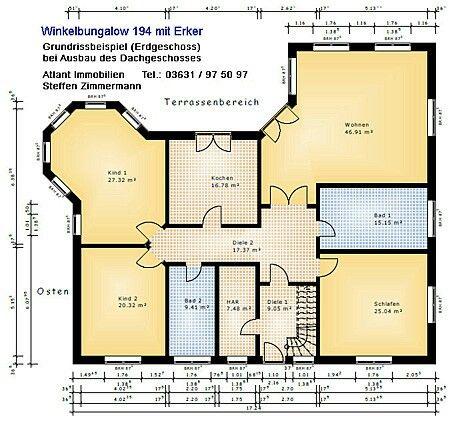 Grundriss bungalow 150 qm  166 besten grundrisse Bilder auf Pinterest | Grundrisse ...
