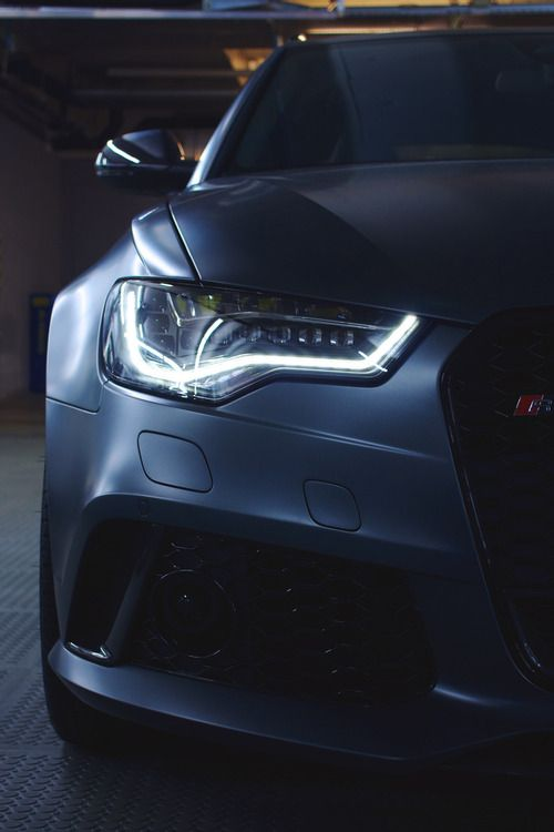 Matte grey Audi RS6 by Rushinroulette Photography