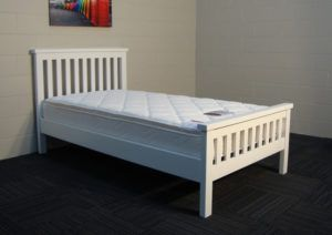 Tempat Tidur Anak Minimalis Putih