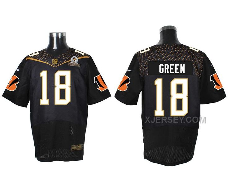 http://www.xjersey.com/nike-bengals-18-aj-green-black-2016-pro-bowl-elite-jersey.html Only$47.00 #NIKE BENGALS 18 A.J. GREEN BLACK 2016 PRO BOWL ELITE JERSEY Free Shipping!