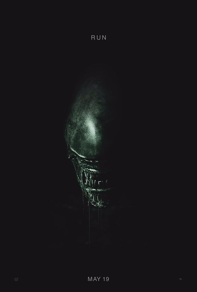 The first teaser poster for Alien: Covenant features a familiar beast - Movie News | JoBlo.com