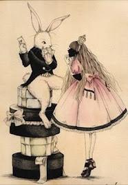 Alice & White Rabbit