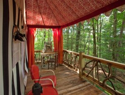 Go Glamping at The Martyn House in Ellijay, Georgia