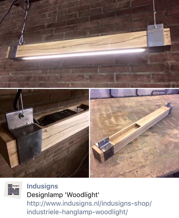 Make my own wood shell to put around existing lights. Add rugged looking mounting hardware.