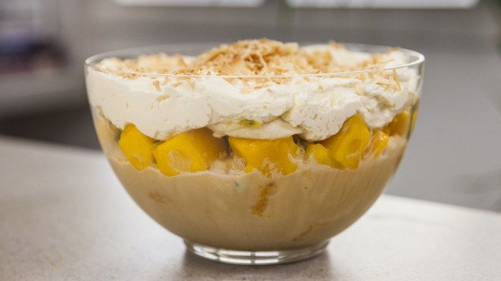 White Chocolate Summertime Trifle