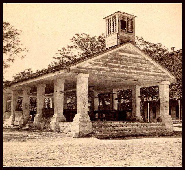 The old slave market: