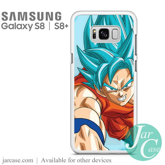 Dragonball Z Son Goku saiyan Blue 4 Phone Case for Samsung Galaxy S8 & S8 Plus