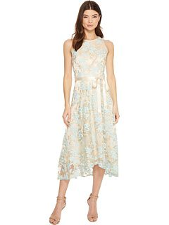 65eca3ca Embroidered Mesh Midi Dress by Tahari by ASL at Zappos.com. Read Tahari by  ASL Embroidered Mesh Midi Dress product reviews, or select the size, width,  ...