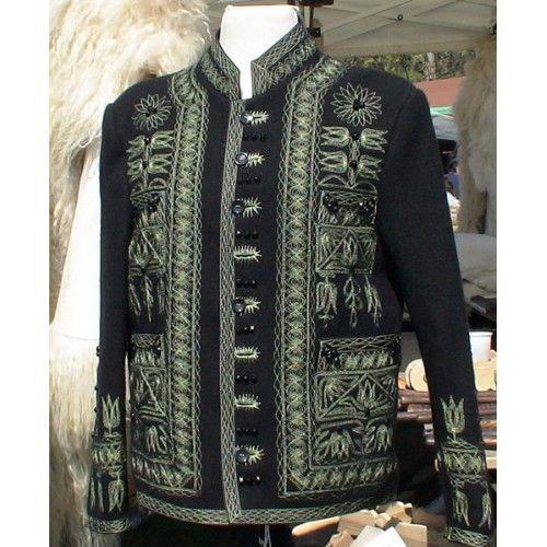 Kalotaszegi bujka kabát