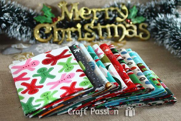 A Dozen Christmas Fat Quarters GiveawayCrafts Ideas, Sewing Crafts, Fat Quarter, Sewing Tutorials, Crafts Passion