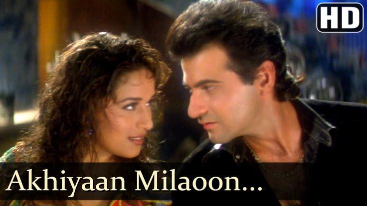 Akhiyaan Milaoon Kabhi - Raja Songs - Madhuri Dixit - Sanjay Kapoor - Ud...