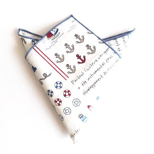 Deep in the Sea Pocket Square