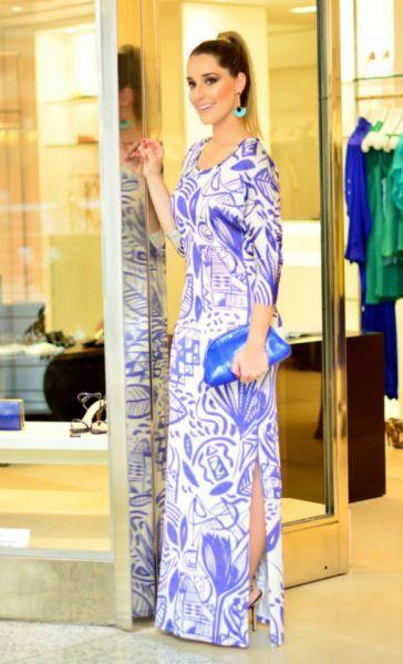 83 vestidos de fiesta largos y estampados para invitadas de boda 2015! Image: 31