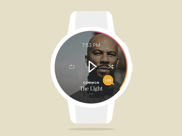 Music App for Smartwatch by Amit Jakhu