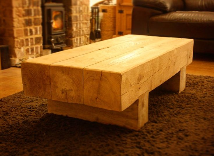 Oak Beam Coffee Tables For Sale In Our Online Shop #coffeetable #tables  #rustictable