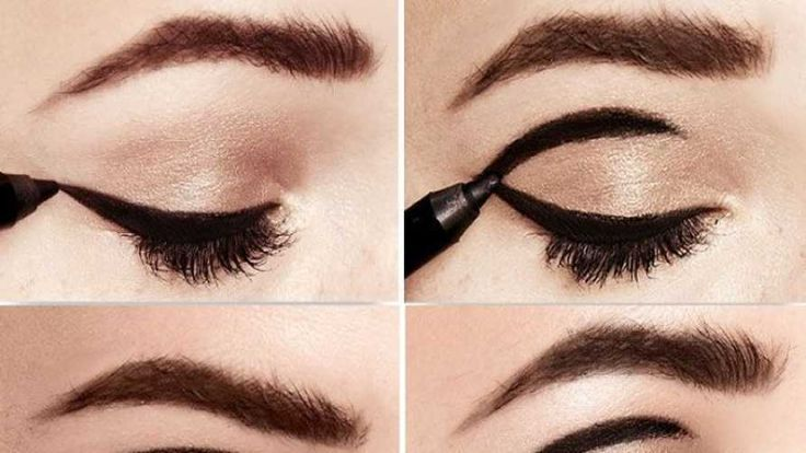 Step By Step Tutorial To Get Vintage Eye Makeup From The 60's | Blushy Babe