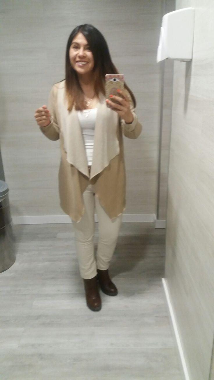 Pantalon beige outfit