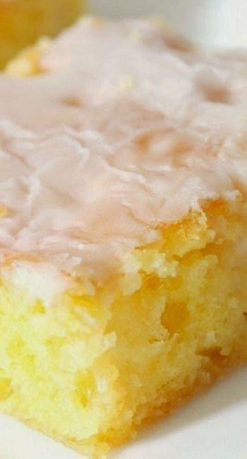 Jello Lemon Bars - Rincón Cocina