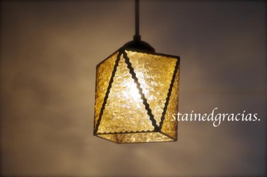 ランプシェードL8 - ステンドグラス ステンドグラシアス