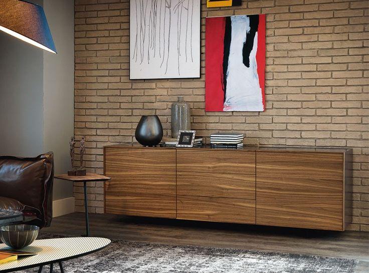 Oxford Sideboard 2 Door 3 Drawer By Cattelan Italia   $4,325.00