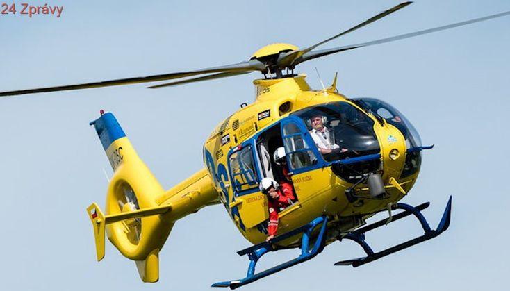 Auto na Brněnsku srazil předškoláka, zasahoval vrtulník. Smrtelná nehoda v Karviné