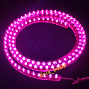 LED Under Truck Lights | Waterproof 120 LED Pink Strip Light for Aquarium Fish Tank Under Car ...