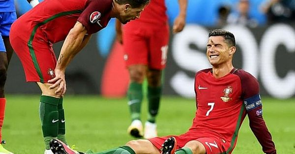 Cristiano Ronaldo Attacked By Rogue Moth In Euro 2016 Soccer Final