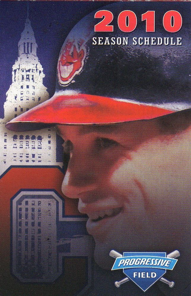 grady sizemore--2010 cleveland indians schedule--progressive insurance from $0.99