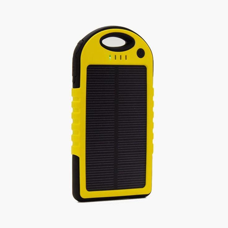Twirllinks: Solar Power Bank Lader til Mobil