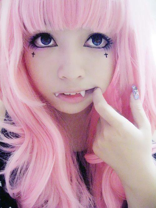 cat girl? vampire? | ☆ pastel goth ☆ | Pinterest ...